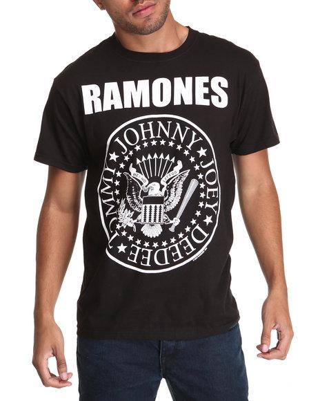 DRJ Music Merch Black Ramones Jumbo Tee