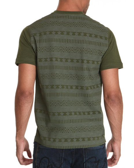 Parish Men Olive Buccaneer Tee