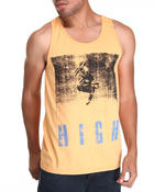 Men - H I G H Tri Blend Tank Top