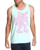 Junk Food - The Artist Tri Blend Tank Top