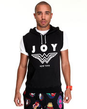 Hoodies - Joy New York Sleeveless Hoodie