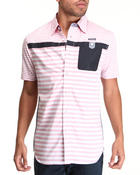 Button-downs - Stripe Oxford S/S Button-down