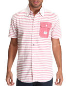 Button-downs - Ambrosia S/S Stripe Button-down