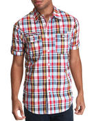 Parish - Gilman S/S Plaid Button-down
