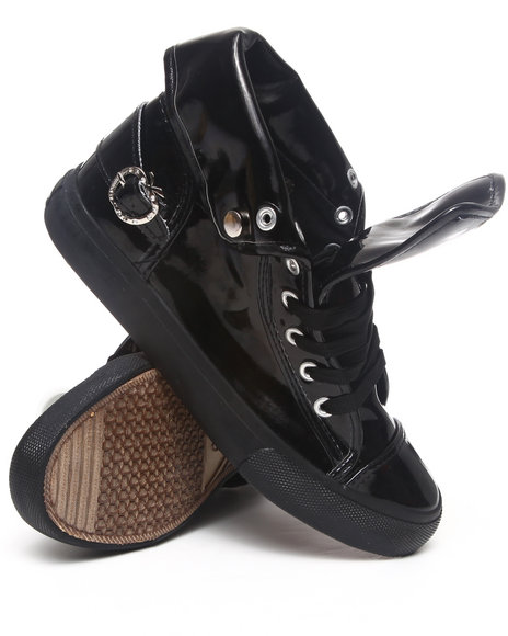 Apple Bottoms Black Sneakers