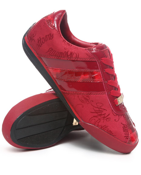 Apple Bottoms - Women Red Ally Sneakers