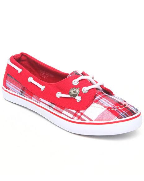 Apple Bottoms Women Red Lowrin Shoe