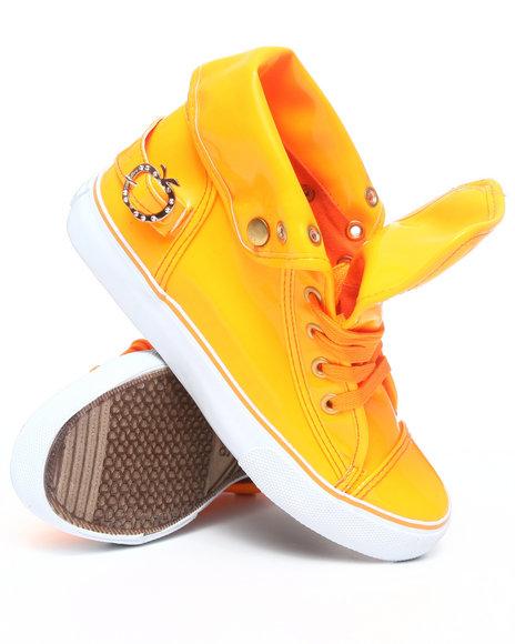 Apple Bottoms Women Orange Elijah Sneaker