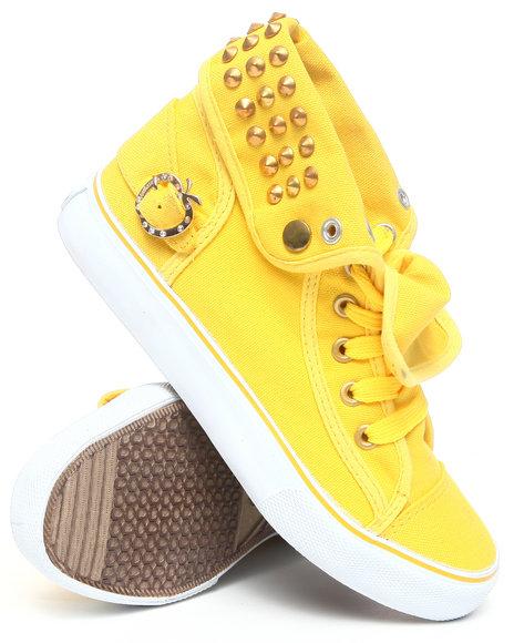 Apple Bottoms Women Yellow Biner Canvas Sneaker