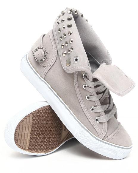 Apple Bottoms Women Grey Biner Canvas Sneaker