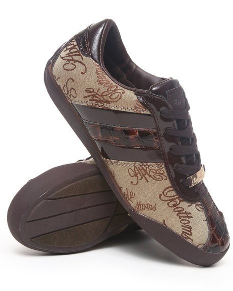 Apple Bottoms - Women Dark Brown Ally Sneakers - $16.99