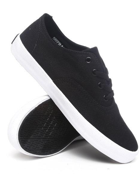 Supra Black The Wrap Sneakers