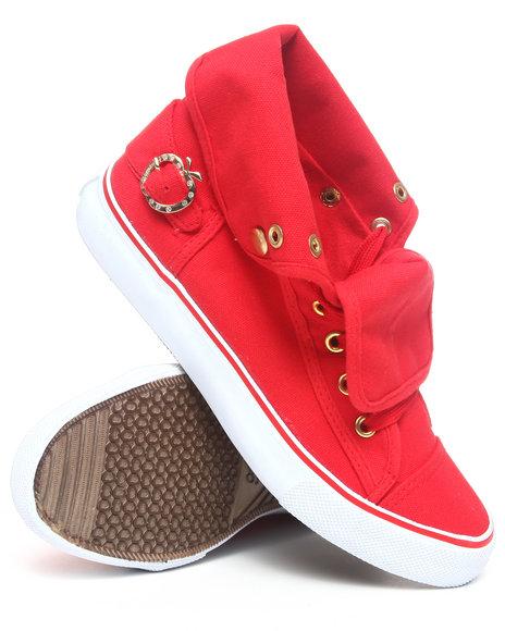 Apple Bottoms Women Red Elton Canvas Sneaker