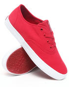 Supra - Wrap Red Canvas Sneakers