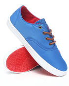 The Skate Shop - Wrap Blue Nylon Sneakers