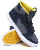 Supra - Vaider Blue Chambray/Blue Leather Sneakers