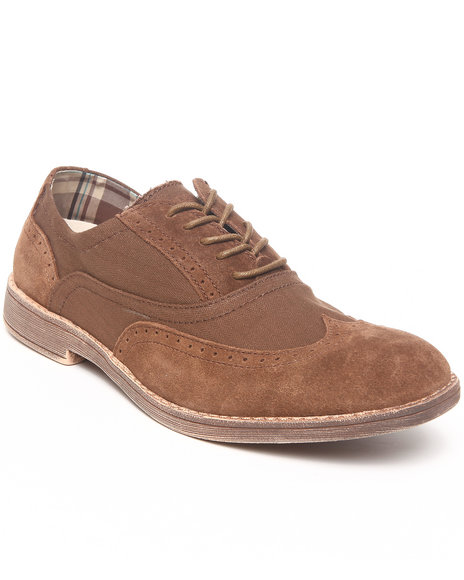Hey Dude Footwear Men Brown Vinci Wingtip