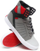 Supra - Skytop Light Grey Leather/Grey Nubuck Sneakers
