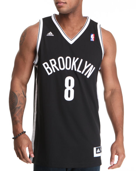 Adidas Black Brooklyn Nets Deron Williams Adidas Jersey