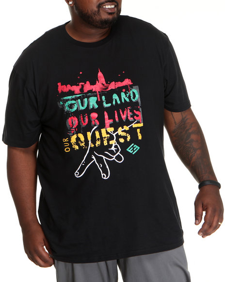 Enyce Men Black Quest T-Shirt