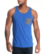 Buyers Picks - Pocket contrast Tank Top