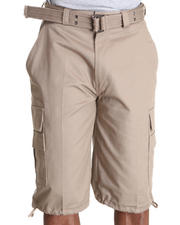 Basic Essentials - Beyond the Limit Cargo Shorts with Belt