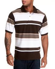 Basic Essentials - Striped Pique Polo