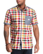 Parish - Zinnia S/S Plaid Button-down