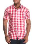 Parish - Gingham S/S Button-down