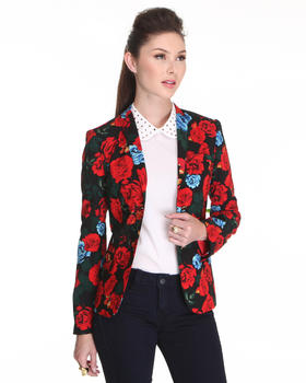 DJP OUTLET - Rose Printed Blazer