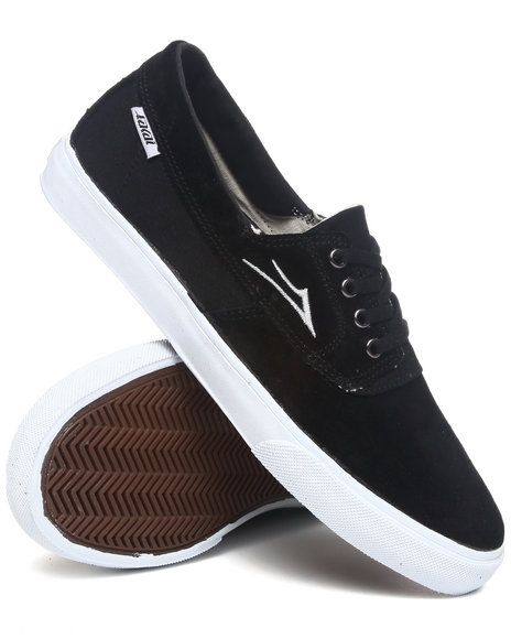 Lakai Men Black Camby Black Suede Sneakers