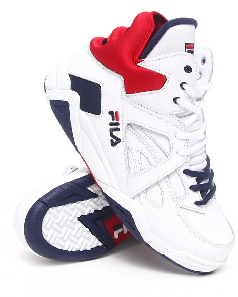 Fila Men  The Cage Hightop Sneaker