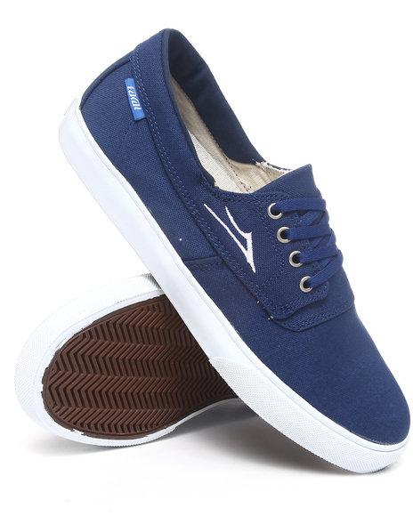 Lakai Men Blue Camby Navy Canvas Sneakers
