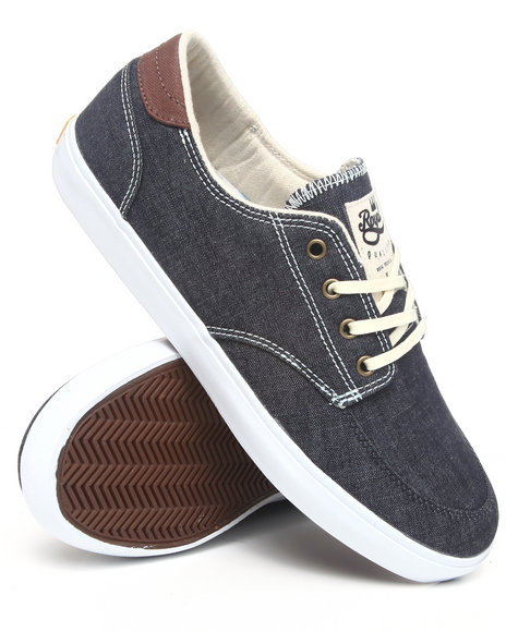 Lakai Men Belmont X Royal Midnight Denim Sneakers
