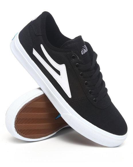 Lakai Men Black Manchester Black Canvas Sneakers
