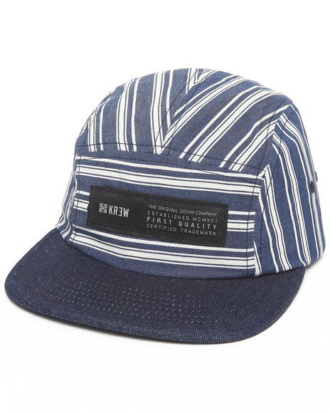 Kr3w Refused 5-Panel Cap Navy