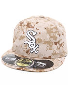 Men - Chicago White Sox Memorial Day Marine Camo 5950 fitted Hat