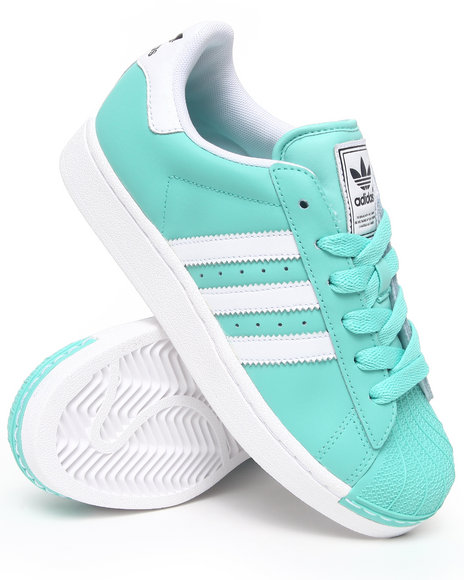 Adidas Women Green Superstar 2 W Sneakers