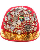 Men - Bejeweled Snapback Hat