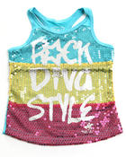 Girls - ROCK DIVA TANK (7-16)