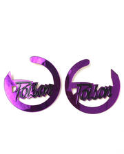 Jewelry - POISON HOOP EARRINGS