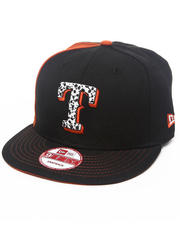 New Era - Texas Rangers Safari Print Custom Snapback hat (DrJays.com Exclusive)