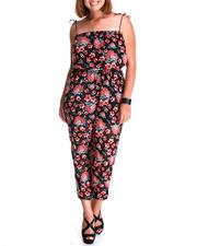 Fashion Lab - Teacup Floral Chiffon Jumper (plus)