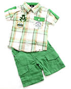 Akademiks - 2 PC SET - WOVEN & SHORTS (INFANT)