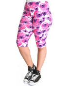 Fashion Lab - Floral Capri Pants (plus)