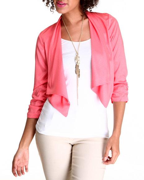 Fashion Lab - Women Pink The Lilly Blazer