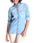 Women - Pearl Chambray Shirt