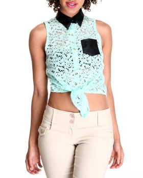 Fashion Lab - Crochet Sleeveless Top