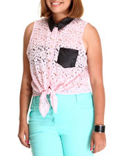 Tops - Crochet Sleeveless Top