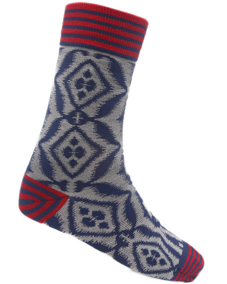 Stance Socks Men Bombay Socks Grey LargeXLarge